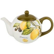 Чайник Заварочный Лемон Три 22,5x13,5 см Высота 14,5 см / 950 мл - Huachen Ceramics