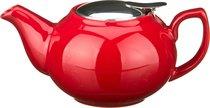 Заварочный чайник С Металлической Крышкой 600 мл, цвет красный - Hebei Grinding Wheel Factory