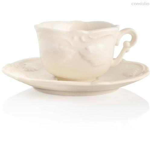 Чашка для эспрессо с блюдцем Gien Рокайль 100мл, фаянс - Gien