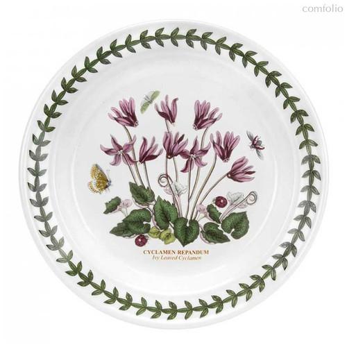"""Тарелка пирожковая Portmeirion """"Ботанический сад. Цикламен"""" 18см - Portmeirion"""