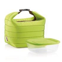 Набор термосумка+контейнер Handy малый зеленый - Guzzini