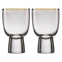 """Набор бокалов для вина Lenox """"Трианна"""" 295мл, 2шт, (дымчатый), цвет кофейный - Lenox"""