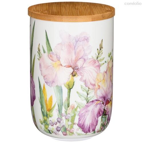 Банка с Дер.Крышкой Lefard Iris 15 см 1000 мл - Songfa ceramics