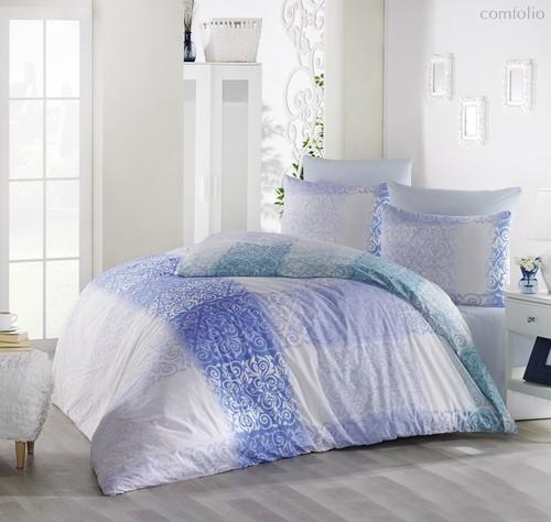 Постельное белье Ranforce Elfin, цвет голубой, размер 1.5-спальный - Altinbasak Tekstil