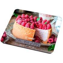 Весы Кухонные Торт Hottek Ht-962-037 С Отображением Тем-Ры И Времени, МаксВес 7Кг - Keyon