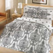 Постельное белье Altinbasak Scarlet, сатин, цвет черный, размер 2-спальный - Altinbasak Tekstil