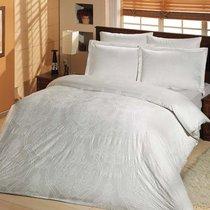Постельное белье Altinbasak Scarlet, сатин, цвет белый, 2-спальный - Altinbasak Tekstil