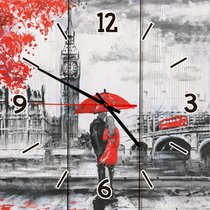 Двое в Лондоне 30х30 см, 30x30 см - Dom Korleone