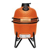 Керамический уличный гриль маленький 40*33*58см (оранжевый), цвет оранжевый - BergHOFF