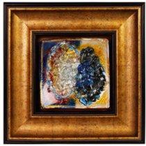 Картина стеклянная Фьюжн 32х32см - Top Art Studio