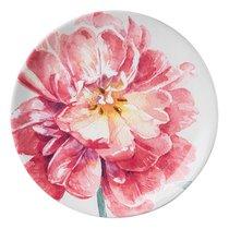 Тарелка закусочная Certified Int. Весенний Букет. Розовый цветок 23см, керамика - Certified International
