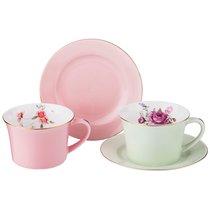 Кофейный Набор Времена Года На 2 Персоны 4 Пр. 160 мл - Kingensin Porcelain Industrial