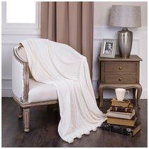 Плед С Помпонами Белый Туман 200X220 см - Gree Textile Dingfeng