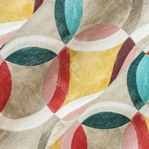 Ткань лонета Ритм колор ширина 280 см/ 1894, цвет разноцветный - Altali