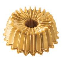 Форма для выпечки 3D Nordic Ware Блеск 1,2л, литой алюминий (золотая)