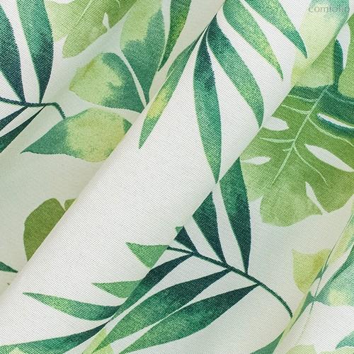 Ткань лонета Тропикана ширина 280 см, 1849, цвет зеленый - Altali