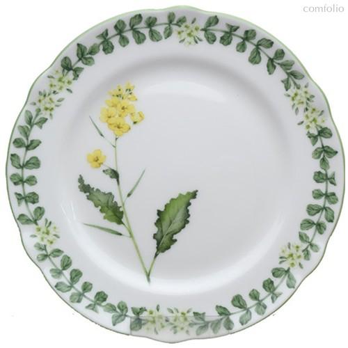 """Тарелка закусочная 21см """"Английские травы"""" - Noritake"""