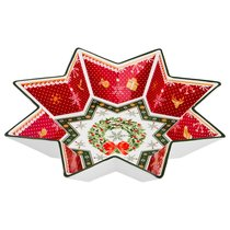 Салатник Christmas Collection Диаметр 32 см Высота 6 см - Chanzhou Cheerful Porcelain