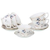Чайный Набор На 6 Персон Гуси 12Пр. 240 мл - Kingensin Porcelain Industrial