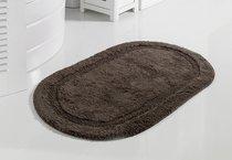 """Коврик для ванной """"MODALIN"""" кружевной RACET 60x100 см 1/1, цвет коричневый - Bilge Tekstil"""