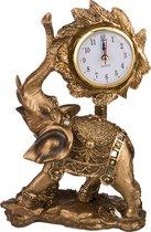 Часы Настольные Кварцевые Слон 15x8,5x23,5 см - Chaozhou Fountains&Statues