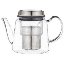 Заварочный Чайник С Фильтром Нжс 800 Мл, Жаропрочное Стекло - Dalian