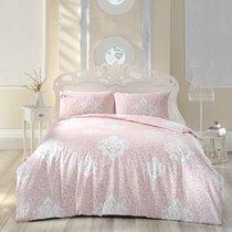 Постельное белье Ranforce Snazzy, цвет розовый, размер Евро - Altinbasak Tekstil
