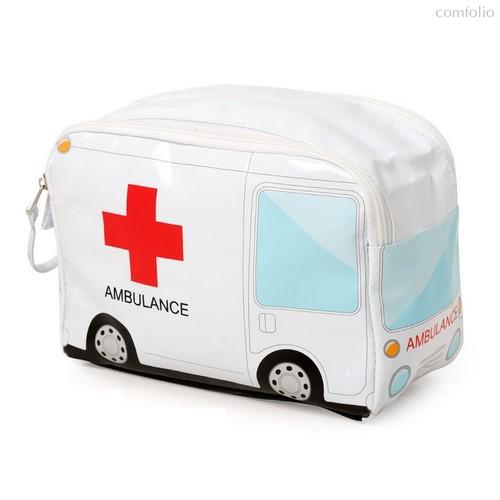 Сумка для лекарств Ambulance, цвет белый - Balvi