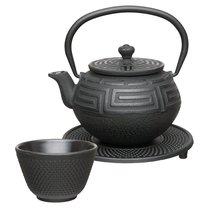 Чайный набор чугунный (чёрный) 0,35л Studio, цвет черный - BergHOFF