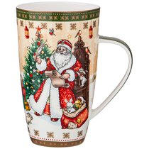 Кружка Lefard Дед Мороз и Снегурочка 600 мл - Shanshui Porcelain