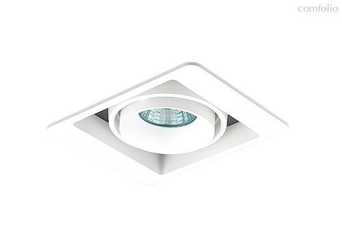 Donolux Lumme Светильник встраиваемый, MR16, макс.50Вт, GU10, IP20, Белый/черный, D127х105х95 мм, бе - Donolux