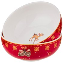 Набор Розеток Christmas Collection, Диаметр 10 см - Jinding