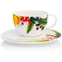 """Чашка чайно-кофейная с блюдцем 300мл """"Фруктовый сад"""" - Rosenthal"""