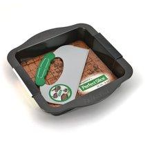 Противень квадратный с инструментом для нарезания 30*27*5см Perfect Slice, цвет темно-серый - BergHOFF