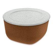 Контейнер для хранения продуктов CONNECT L Organic 2 л коричневый - Koziol