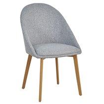 Кресло Berg Molly, серое - Berg