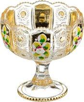 Конфетница На Ножке Lefard Gold Glass Диаметр 12,5 см Высота 13 см - Dalian