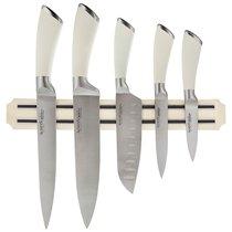 Набор Ножей Agness 6 Пр.С Магнитным Держателем Нерж.Сталь - Kitchen King