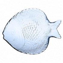 Марин блю лайт набор тарелок 10256В 196x160мм 6пр в форме рыбы - Pasabahce