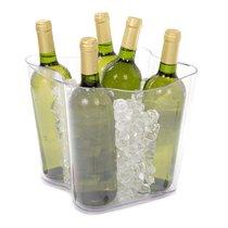 Ведро для охлаждения бутылок Duna прозрачное, цвет прозрачный - Koala