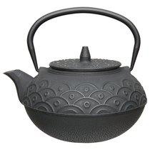 Чайник заварочный чугунный (чёрный) 1,4л Studio, цвет черный - BergHOFF