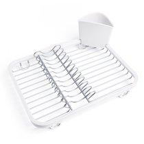 Сушилка для посуды Sinkin, белая/никель - Umbra