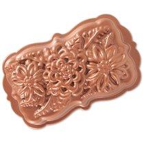 Форма для выпечки прямоугольная Дикие цветы, объем 1,4 л (литой алюминий) - Nordic Ware