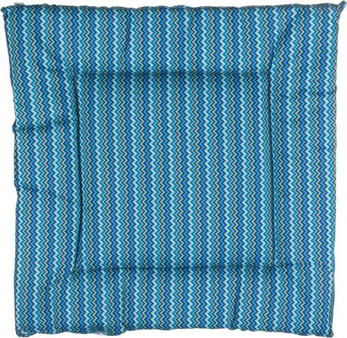 Сиденье Для Стула Миссони Синий , 40x40 см ,100% Полиэстер - Gree Textile Dingfeng