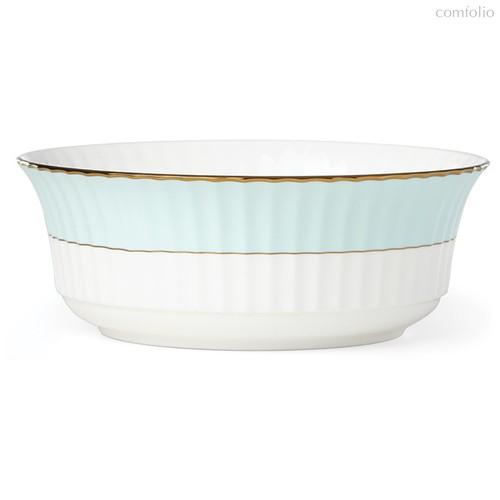 """Салатник Lenox """"Цветное плиссе"""" 2,3л (бирюзовый), цвет бирюзовый - Lenox"""