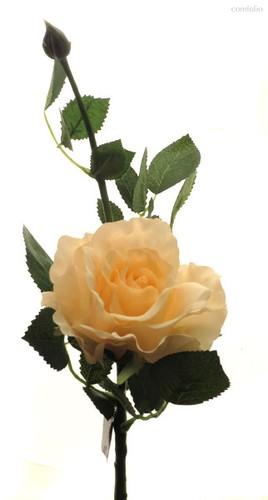 Роза Лимбо с почкой розовый жемчуг 30 см живое прикосновение (36 шт.в упак.) - Top Art Studio