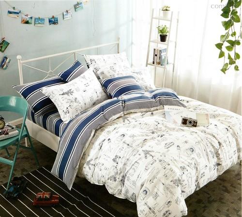 Постельное белье Karna Delux Fonta, подростковое, 1.5-спальный - Karna (Bilge Tekstil)