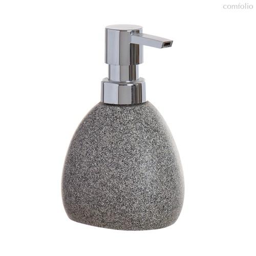 Дозатор для жидкого мыла Arena Stone 350мл гранит, цвет серый - D'casa