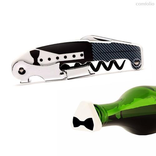 Набор для вина Black Tie, цвет черный - Koala