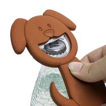 Открывалка Woof! коричневая магнитная, цвет коричневый - Balvi